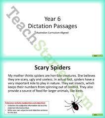 dictation passages powerpoint year 6 teaching resource u2013 teach
