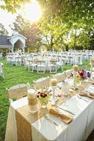 wedding table setting exles 150 best wedding outdoor decor images on pinterest wedding ideas