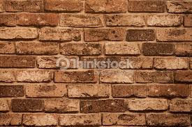 abstract paint red brick wall background in a room stock photo