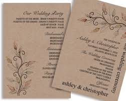 downloadable wedding programs do it yourself vg invites what s new