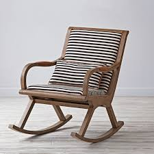 antique white rocking chair concept home interior design for