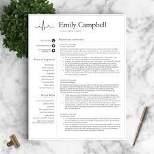 Resume Sample Quick Learner by Nurse Resume Template The Emily U2013 Landed Design Solutions