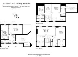 Salisbury Cathedral Floor Plan 4 Bed Mews House For Sale In Wardour Court Tisbury Salisbury