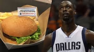 Judge Rowland Barnes Harrison Barnes Officially Has His Own U0027all Star U0027 Burger In Dallas
