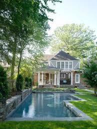 Backyard Pool House by Best 25 Rectangle Pool Ideas Only On Pinterest Backyard Pool