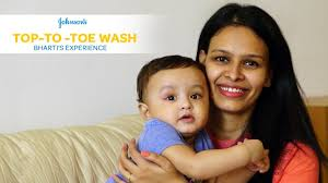 johnson u0027s top to toe wash bharti u0027s experience best for baby