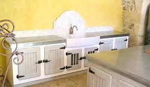 meuble cuisine zinc meuble cuisine bois et zinc recouvrir meuble de cuisine meuble