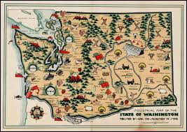 map of wa state industrial map of the state of washington barry