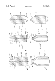 patent us6115894 process of making obstacle piercing frangible
