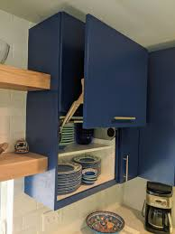 garage door for kitchen cabinet white lake kitchen remodel