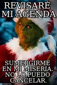 Agenda Meme - revisar礬 mi agenda grinch meme en memegen