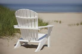 Recycled Plastic Furniture Seashell Recycled Plastic Adirondack Chair