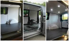 renault trafic interior vanguard campervan conversions
