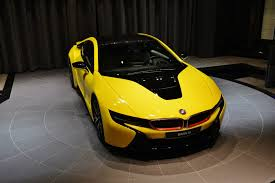 bmw i8 gold bmw i8 yellow and white u2013 new cars gallery