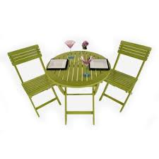 Tesco Bistro Chairs Buy Painted Wooden 2 Seater Folding Bistro Set Green