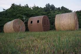 How To Make A Hay Bail Blind Midwest Antler Company Hay Tek Bale Blinds