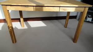 Jysk Side Table Desk Oak 3 Draw Silkeborg Desk From Jysk Item No 3697352 In