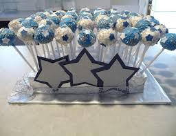 cake pops for dallas cowboy fan babyshower baby shower ideas