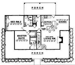 Two Bed Room House Plan 7410rd Porches Galore Smallest House House And Tiny Houses