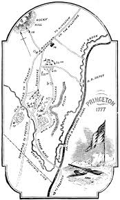 Princeton Map File Map Of The Battle Of Princeton Nj January 2 3 1777 Jpg