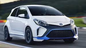 2017 Toyota Yaris Hybrid Redesign Youtube