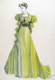 vintage fashion drawings from the late 1930s europeana blog
