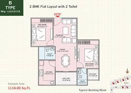 2bhk floor plans adarsh buildestate limited