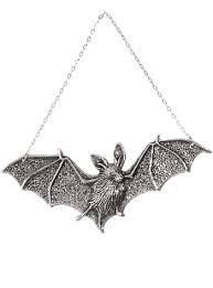 nocturnal bat ornamental wall by plasticland jewelry