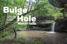 Bulge hole waterfalls explore photograph live
