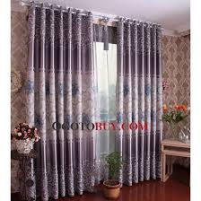 Affordable Curtains And Drapes Contemporary Curtains And Drapes In Grey Color With Printing