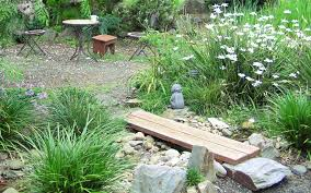 Patio Garden Designs by Natural Patio Ouida Us