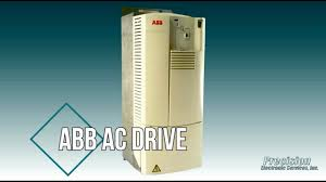 abb ac drive repair youtube