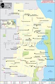 Map Illinois by Northwestern University In Illinois World Information