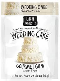 project 7 sugar free gum wedding cake 12 count