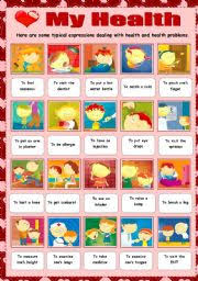 english teaching worksheets health