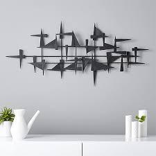 Metal Wall Shelving by Castile Metal Wall Decor Cb2