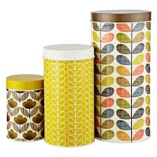 Yellow Kitchen Accessories by Beautiful Orla Kiely Kitchen Accessories