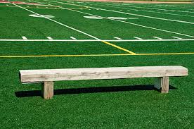 Field Bench American Football Bench Football Field Empty Pictures Images And