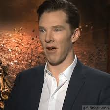 Middle Finger Meme Gif - benedict cumberbatch middle finger gif finder find and share