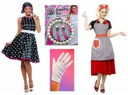 1950 Halloween Costume 1950s Costumes Fifties Attire Candy Apple Costumes