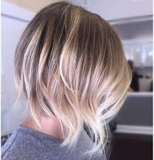 diy cutting a stacked haircut love having creative freedom full head of balayage and a