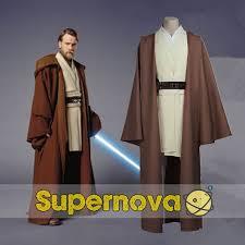 Star Wars Halloween Costumes Adults Star Wars Costume Jedi Obi Wan Ben Kenobi Costume Jedi Robeadult