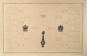 beautiful blank diagram of a family tree genealogy chart