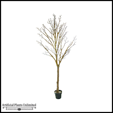 7 artificial tree trunk