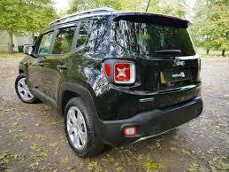 jeep renegade black used jet black jeep renegade for sale hertfordshire