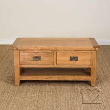 side table 2 drawers rustic oak coffee table with drawers f50 about remodel wonderful