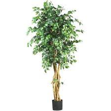 best choice products 6ft artificial ficus tree ebay