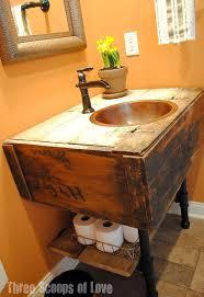 Build Your Own Bathroom Vanity Cabinet Bathroom Vanity From A Wall Cabinet Hometalk