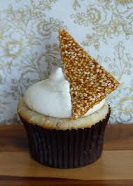 sesame cupcakes toasted sesame cupcakes with honey cheese frosting