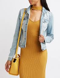 Light Denim Jacket Distressed Light Wash Denim Jacket Charlotte Russe